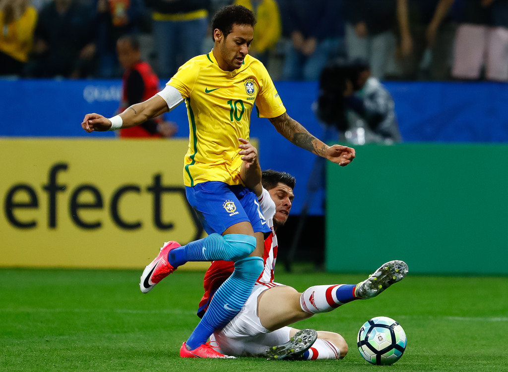 neymar photos photos brazil v paraguay 2018 fifa world
