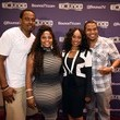 Bre'ly Evans Bounce TV Hosts Preview Screening of 'Family Time' and 'Mann and Wife'