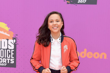 Breanna Yde Nickelodeon Kids' Choice Sports Awards 2017 - Arrivals