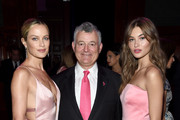 Carolyn Murphy, William P. Lauder, and Grace Elizabeth attend the Hot Pink Party hosted by the Breast Cancer Research Foundation at Park Avenue Armory on May 15, 2019 in New York City.
