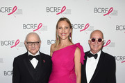 (L-R) Dr. Larry Norton, Kinga Lampert, and Paul Shaffer attend the Breast Cancer Research Foundation Hot Pink Gala hosted by Elizabeth Hurley at Park Avenue Armory on May 17, 2018 in New York City.