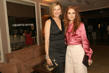 Brenda Strong ELLE's 6th Annual Women In Television Dinner Presented By Hearts on Fire Diamonds And Olay - Inside