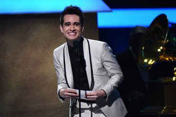 Brendon Urie The 59th GRAMMY Awards - GRAMMY Pre-Telecast