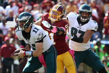 Brent Celek Philadelphia Eagles v Washington Redskins