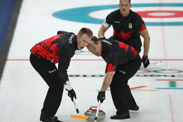 Brent Laing Curling - Winter Olympics Day 7