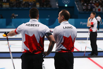Brent Laing Curling - Winter Olympics Day 9