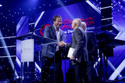 Will Arnett, recipient of the Spirit of Sobriety Award, speaks onstage at Brent Shapiro Foundation Summer Spectacular 2019 at The Beverly Hilton Hotel on September 21, 2019 in Beverly Hills, California.
