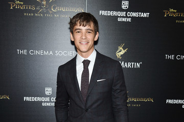 Brenton Thwaites The Cinema Society Hosts a Screening of 'Pirates Of The Caribbean: Dead Men Tell No Tales'