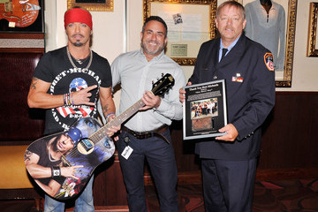 Bret Michaels Bret Michaels' Guitar Donation