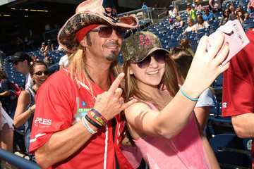 Bret Michaels 26th Annual City of Hope Celebrity Softball Game - Arrivals
