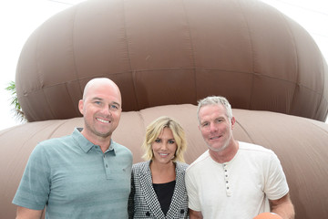 Brett Favre All-Stars Drop By Poo-Pourri's Giant Poo In Miami