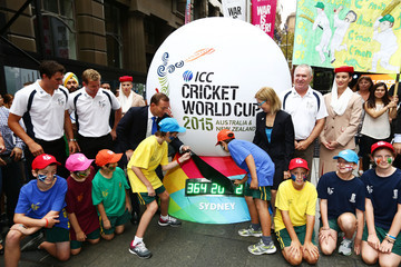 Brett Lee ICC CWC One Year to Go Countdown