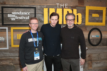 Brian Carver Bill Skarsgard Receives the IMDb STARmeter Award at the 2018 Sundance Film Festival