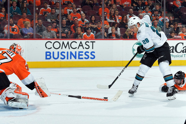 San Jose Sharks vs. Philadelphia Flyers