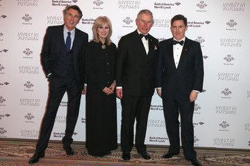 Brian Ferry The Prince's Trust Invest in Futures Reception