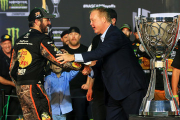 Brian France Monster Energy NASCAR Cup Series Championship Ford EcoBoost 400