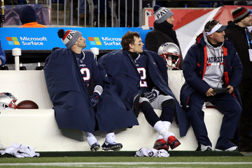 Brian Hoyer Divisional Round - Tennessee Titans v New England Patriots