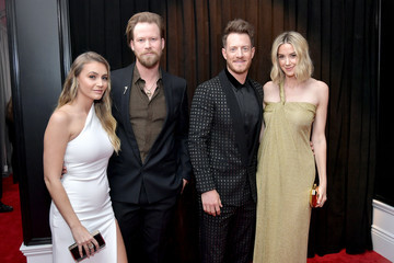 Brian Kelley Brittney Marie Cole 61st Annual Grammy Awards - Red Carpet