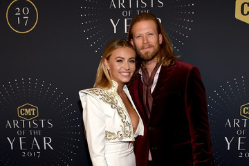 Brian Kelley Brittney Marie Cole 2017 CMT Artists of the Year - Arrivals