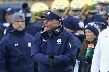 Brian Kelly Wake Forest v Notre Dame