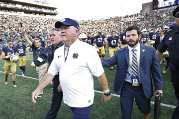 Brian Kelly Temple v Notre Dame