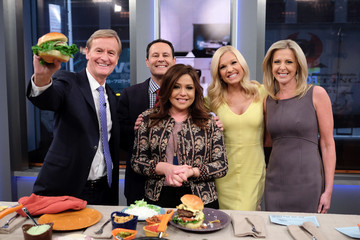 Brian Kilmeade Rachael Ray Visits 'Fox & Friends'