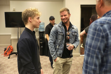 Brian Littrell SiriusXM's The Highway Channel Broadcasts Backstage Leading Up To The ACMs