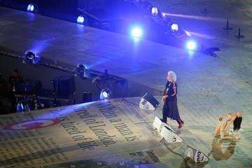 Brian May Jessie J 2012 Olympic Games - Closing Ceremony