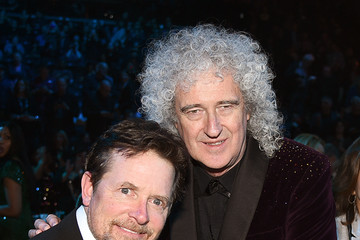 Brian May 2019 Rock And Roll Hall Of Fame Induction Ceremony - Inside