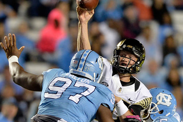 Brian Walker  Wake Forest v North Carolina