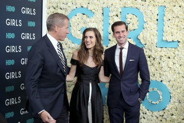 Brian Williams The New York Premiere of the Sixth and Final Season of 'Girls' - Red Carpet