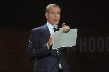 Brian Williams Inside the Robin Hood Foundation's Benefit