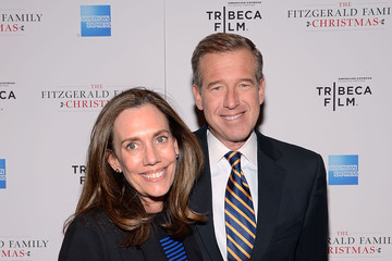"""Brian Williams Tribeca Film's Special New York Screening Of """"The Fitzgerald Family Christmas"""""""