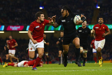 Brice Dulin New Zealand v France - Quarter Final: Rugby World Cup 2015