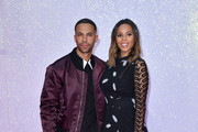 """Marvin Humes and Rochelle Humes attend the """"Bridget Jones's Baby"""" world premiere at the Odeon Leicester Square on September 5, 2016 in London, England."""
