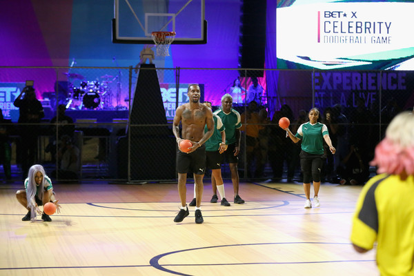 2018 BET Experience - Celebrity Dodgeball Game