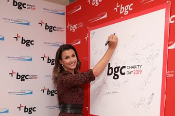 Bridget Moynahan Annual Charity Day Hosted By Cantor Fitzgerald, BGC, And GFI - BGC Office - Arrivals