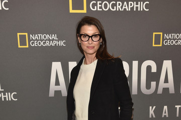 Bridget Moynahan National Geographic's 'America Inside Out With Katie Couric' Premiere Screening In NYC