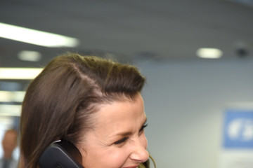 Bridget Moynahan Annual Charity Day Hosted By Cantor Fitzgerald, BGC, And GFI - GFI Office - Inside