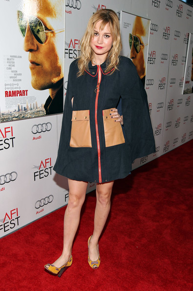 """Brie Larson Actress Brie Larson arrives at the """"Rampart"""" special ..."""