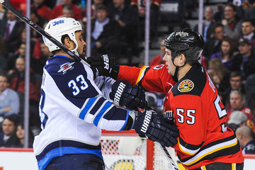 Brien Winnipeg Jets v Calgary Flames