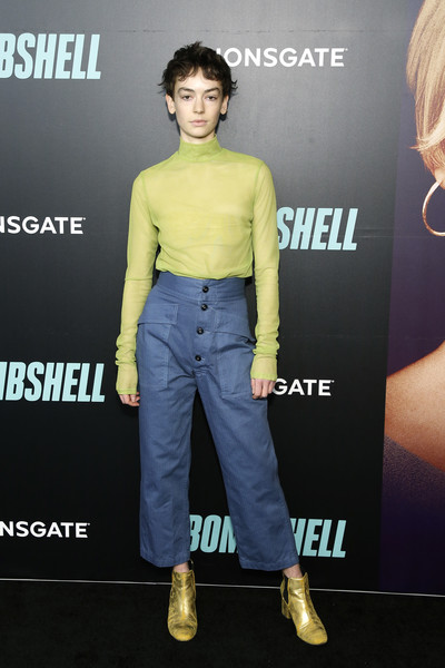 """""""Bombshell"""" New York Screening [bombshell,clothing,yellow,footwear,fashion,premiere,shoe,electric blue,style,fashion model,shirt,brigette lundy-paine,jazz,new york,lincoln center,screening]"""
