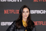 Lucy Watson attends the European Premeire of 'Bright' held at BFI Southbank on December 15, 2017 in London, England.