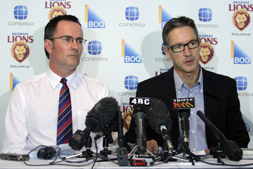 Michael Bowers Brisbane Lions Press Conference
