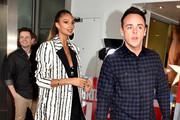 Declan Donnelly, Alesha Dixon and Anthony McPartlin during the 'Britain's Got Talent' Manchester photocall at The Lowry on February 06, 2019 in Manchester, England.