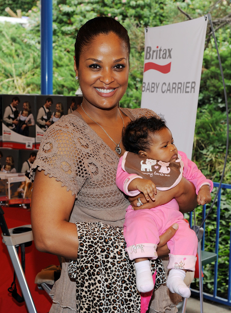 Laila ali as a baby