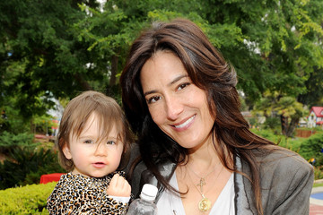 Alicia Coppola Britax And Baby Buggy Host Pre-Father's Day Mini Golf Open To Celebrate The Summer Launch Of The Britax Baby Carrier