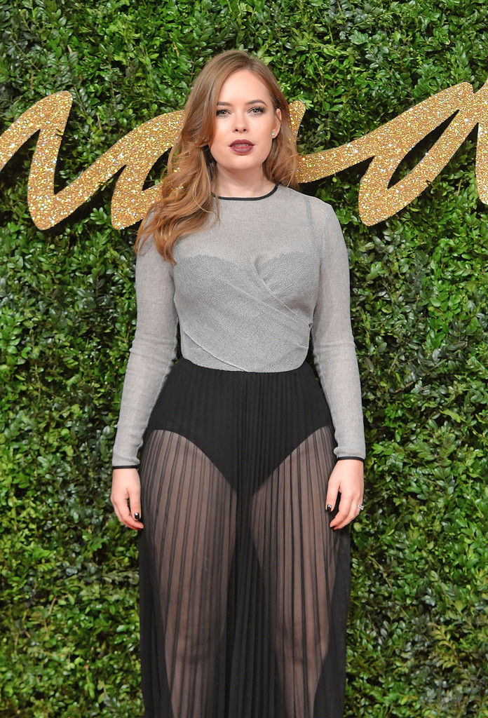 tanya burr photos photos british fashion awards 2015
