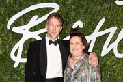 Jefferson Hack and Suzy Menkes attend the British Fashion Awards at London Coliseum on December 1, 2014 in London, England.