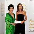 Phoebe Philo and Bianca Jagger